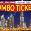 burj khalifa and desert safari