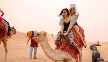 camel riding safari