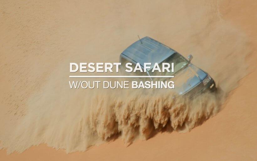 Desert Safari Dubai Without Dune Bashing
