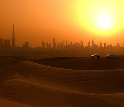 early morning desert safari dubai