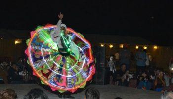 tanoura show in desert