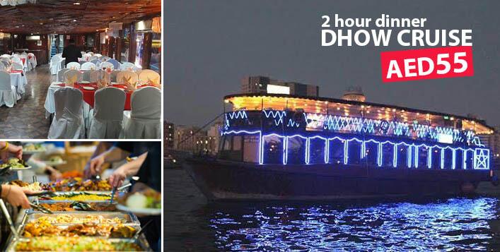 Dhow Cruise Dubai 55 AED