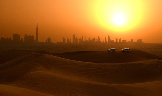 early morning desert safari dubai